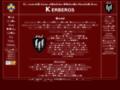 Náhled webu 91. roverský kmen Kerberos
