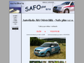 Náhled webu Autoškola Safoplus