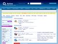 Náhled webu Seznamka O2 Active
