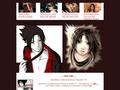 Náhled webu Sharingan no Sasuke-kun