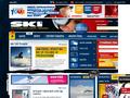 Náhled webu Ski magazín