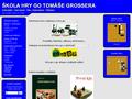 Náhled webu Škola hry go Tomáše Grossera