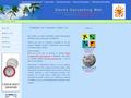 Náhled webu Slanda Geocaching Web