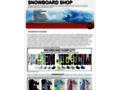 Náhled webu Snowboard eshop