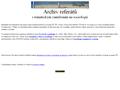Náhled webu Archiv referátů