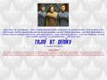 Náhled webu Tajné Star Trek deníky