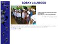 Náhled webu Bosky a naboso