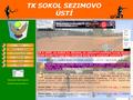 Náhled webu Tenisový klub Sokol Sezimovo Ústí