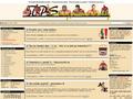 Náhled webu Tomíkovy posilovací stránky