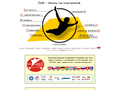 Náhled webu ČGF - Skoky na trampolíně