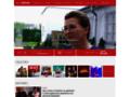 Náhled webu TV Nova