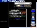 Náhled webu Star Trek Encyklopedy