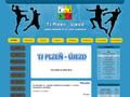 Náhled webu TJ Plzeň - Újezd