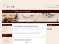 Náhled webu Ústav pro pravěk a ranou dobu dějinnou