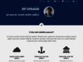 Náhled webu Jiří Urbášek - web, programování, linux