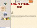 Náhled webu Víno