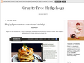 Náhled webu Cruelty Free Hedgehogs