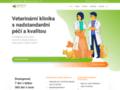 Náhled webu Veterina Zbraslav