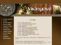 Náhled webu Vikingové