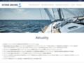 Náhled webu Vltava Sailing
