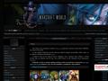 Náhled webu Warcraft