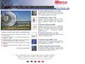 Náhled webu Barco - bezdrátové sítě