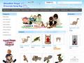 Náhled webu Wooden Toys