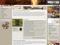 Náhled webu World At War