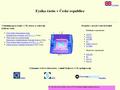Náhled webu Fyzika částic