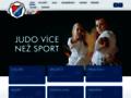 Náhled webu Judo Baník Ostrava