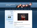 Náhled webu 4 Voices - vokální skupina - jazz a swing