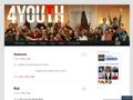 Náhled webu 4 Youth