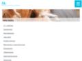 Náhled webu Veterinární nemocnice AA-vet