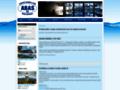 Náhled webu Abas - asociace bazénů a koupališť