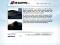 Náhled webu AB Elektro s.r.o. Řenče