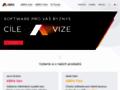 Náhled webu ABRA - ekonomický ERP software