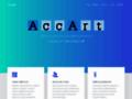 Náhled webu AccArt, s.r.o.