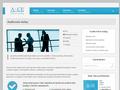 Náhled webu A&CE Group, s.r.o.