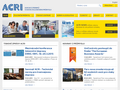 Náhled webu ACRI