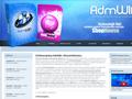 Náhled webu AdmWin - účetní programy