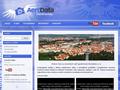 Náhled webu Aerodata