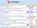 Náhled webu Afrikaonline