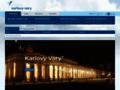 Náhled webu Letiště Karlovy Vary