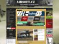 Náhled webu Airsoft magazín