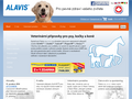 Náhled webu Alavis