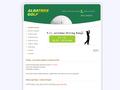 Náhled webu AlbatrosGolf