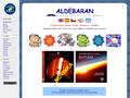 Náhled webu Aldebaran