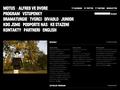 Náhled webu Divadlo Alfred ve dvoře