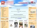 Náhled webu Alpress
