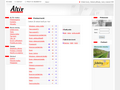 Náhled webu Altix online